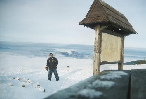 Topo do Teleferico em Martinske Hole