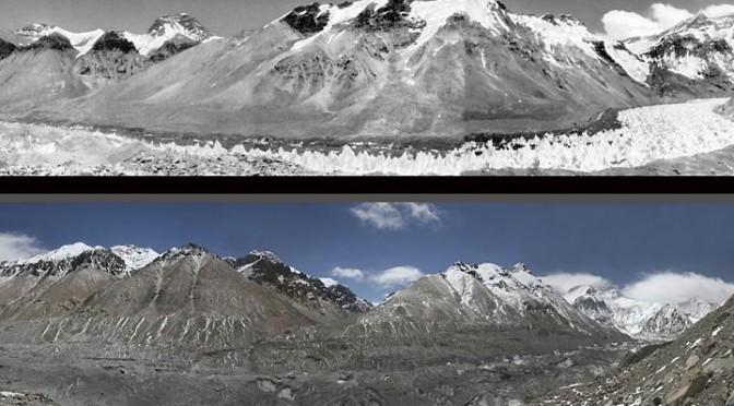 Degelo glacial tibetano causará 'crise hídrica'