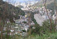 Favela dos Cabritos cresce entre a Lagoa e Copacabana, na Zona Sul do Rio - Foto: Divulgação