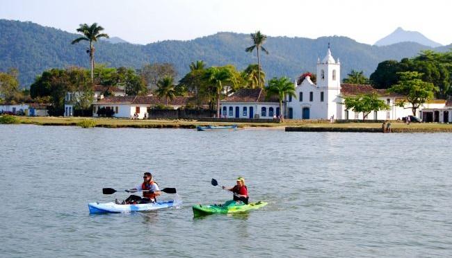 Multisport Spirit reune canoagem e trilhas de Paraty
