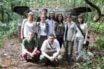 Equipe do INEA responsável pelo processo de adaptação e cuidados até a a reintrodução dos macacos no ambiente - Foto: Lourenço Eduardo
