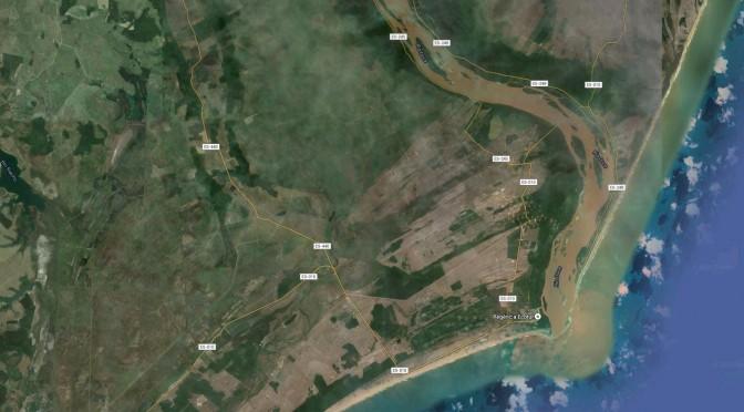 Crime ambiental do Rio Doce já aparece em imagens de satélite