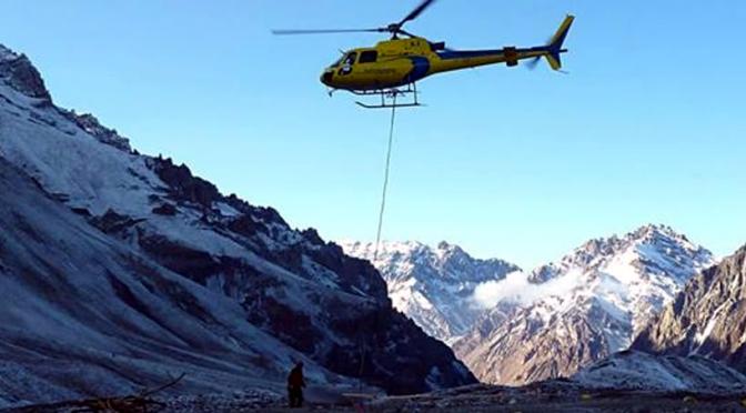 Resgate no Aconcagua